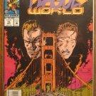William Shatner's Tek World #15 comic book - Marvel comics