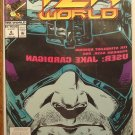 William Shatner's Tek World #8 comic book - Marvel comics