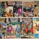 Suicide Squad #'s 37, 38, 39, 40, 41, 46, 50, 51, 54 comic book - DC Comics