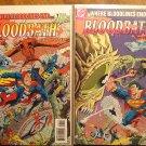 Bloodbath #1 & 2 comic book - DC Comics