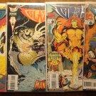Blaze #'s 1, 2, 4, 5 comic book - Marvel Comics