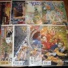 Books Of Magic #'s 10, 12, 29, 30, 38, 39, 62, 63 comic book - DC 'Vertigo' comics