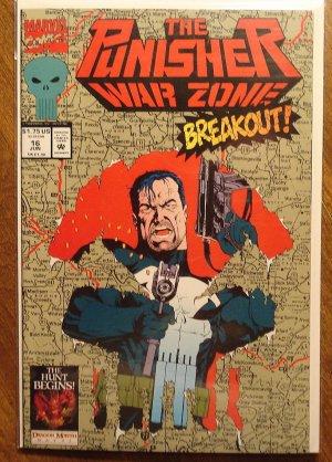 Punisher War Zone #16 comic book - Marvel comics