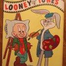 Dell comic book - Looney Tunes #195 1958 Bugs Bunny Elmer Fudd