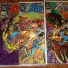 Zatanna #'s 1, 2, 3, 4 mini-series comic book - DC comics