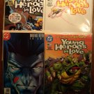 Young Heroes In Love #'s 3, 4, 7, 10 comic book - DC comics