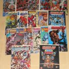 Youngblood comic collection - 18 diff issues, reg, strikefile, team, special, X-force, Image comics