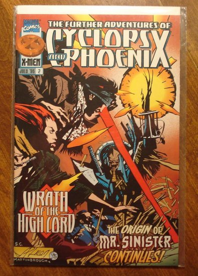 Further Adventures of Cyclops & Phoenix #2 comic book - Marvel Comics - X-Men