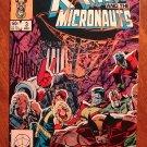 Uncanny X-Men & Micronauts #3 comic book Marvel comics