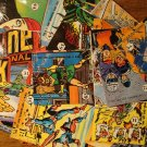 Assortment of 37 different Marvel Universe comic book character stickers (1987) NM/M