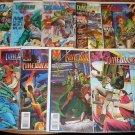 Timewalker #'s 2, 3, 5, 6, 7, 9, 12, 15, Yearbook 1 comic book - Valiant Comics