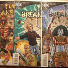 Time Breakers #'s 1, 2, 3 comic book - DC 'Helix' Comics