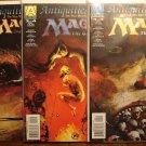 Magic the Gathering: Antiquities War #'s 1, 2, 4 comic book - Armada Comics
