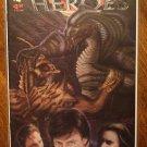 Lost Heroes #4 comic book - Daydez comics