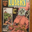 The Losers Special #1 comic book - DC Comics, Crisis crosssover