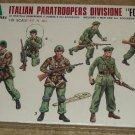 Italarei Italian Paratroopers Divisione (6) soldiers figures model kit MIB Unassembled 1:35