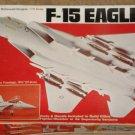 Revell McDonnell-Douglas F-15 Eagle fighter/bomber airplane model kit MIB 1:72