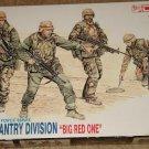 DML US 1st Infantry Division soldiers figures model kit MIB Unassembled 1:35