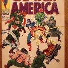 Captain America #104 (B) comic book 1968, Fine condition, Marvel comics, Jack Kirby art