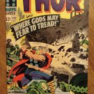 The Mighty Thor #132 comic book, 1966, Marvel Comics, Jack Kirby art, VF condition