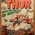 Journey Into Mystery - Thor #117 comic book, 1965, Marvel Comics, Jack Kirby art, VG- condition
