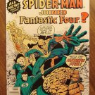 What If? comic book #1 (B) (1977) Spider-man (spiderman) joined the Fantastic Four? Fine condition