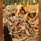 Sea Devils #2 (1961) comic book - DC Comics, Last 10 cent issue