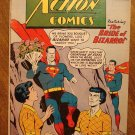 Action Comics #255 (1959) comic book DC Comics Superman, Supergirl, early Bizarro, G/VG condition