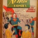 Action Comics #255 (1959) comic book DC Comics Superman, Supergirl, early Bizarro, G/VG condition
