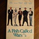A Fish Called Wanda VHS video tape movie film, John Cleese, Jamie Lee Curtis