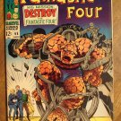 Fantastic Four (4) #68 (1967) comic book - Marvel Comics, Fine condition, Jack Kirby