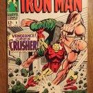 Iron Man #6 (B) (1968) comic book, Marvel Comics, vs. The Crusher