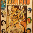 Iron Man #18 (1969) comic book, Marvel Comics, Iron man fights his old armor!
