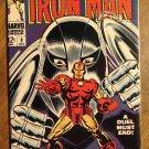 Iron Man #8 (1968) comic book, Marvel Comics, The Gladiator