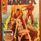 The Sub-Mariner #14 (1969) comic book, Marvel Comics, Golden Age Human Torch, VF- condition!