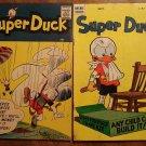 Super Duck #'s 55, 59, 67, 70, 87 (1954 - 1959) comic books, Archie Comics, superduck