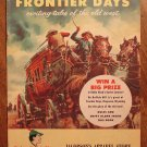 Robin Hood's Frontier Days (no#) (1956) promo western comic book, Robin Hood shoe company? Fine cond