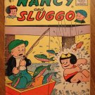Nancy and Sluggo #136 (1956) comic book, St. John comics, Good condition