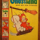Casper's Ghostland #1 (1958) comic book, Harvey comics, VG+ condition, w/ Wendy, Spooky, and more!