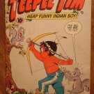 Teepee Tim (Heap Funny Indian Boy) #100 (1954) comic book, ACG comics, F/G condition