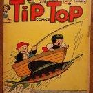 Tip Top Comics #201 (1956) comic book, St. John's comics, VG, Nancy, Charlie Brown, Peanuts, more