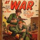Marines At war #7 (1957) comic book, Atlas comics, G/VG condition
