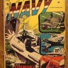 Fightin' Navy #79 (1957) comic book, Charlton comics, Good condition