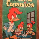 New Funnies #217 (1955) comic book, Dell comics, Good condition - Woody Woodpecker