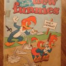 New Funnies #196 (1953) comic book, Dell comics, F/Good condition - Woody Woodpecker