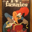 TV Funnies #262 (1958) comic book, Dell comics, G/VG condition - Woody Woodpecker