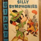 Dell Giant comic - Walt Disney's Silly Symphonies #6 (1956) comic book, VG, Mickey Mouse, Robin Hood