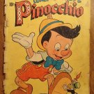 Dell Four (4) Color - Walt Disney's Pinocchio #252 (1949) comic book, Fair condition
