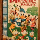 Dell Giant comic - Walt Disney's Picnic Party #6 (1955) comic book, Fair cond., Donald Duck Goofy