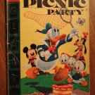 Dell Giant comic - Walt Disney's Picnic Party #7 (1956) comic book, Fair cond., Donald Duck Goofy